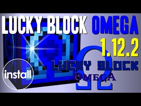 LUCKY BLOCK OMEGA MOD 1 12 2 minecraft - how to download and install [lucky  block mod addon] - CraftStones