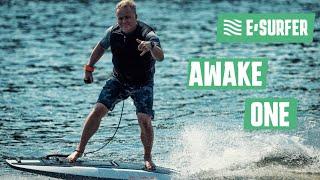 AWAKE electric surfboard demo at boot 2019