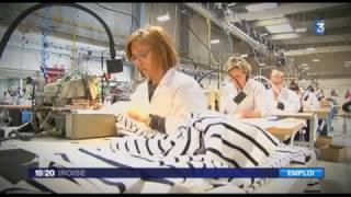 France 3 Iroise, Armor-Lux forme lui-même ses futures couturières