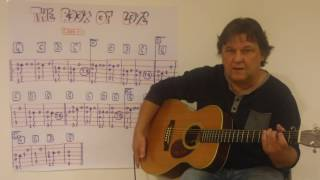 Fingerstyle Guitar Lesson  #137: THE BOOK OF LOVE (Peter Gabriel)