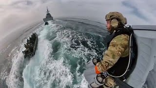 video: Watch: Royal Marines test out jet suit for Maritime Boarding Operations
