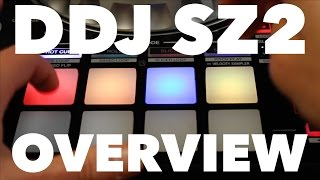 Pioneer DDJ SZ2 Overview – Pitch 'n Time Pitch Play & Serato Flip Demo