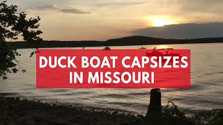 Multiple Casualties Reported After Duck Boat Capsizes On Missouri Lake | Kholo.pk