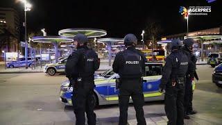 UPDATE Germania: Nouă morţi în cele două incidente armate din Hanau; presupusul autor a fost găsit mort