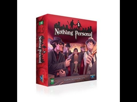 Gen Con 2013 - Nothing Personal Overview