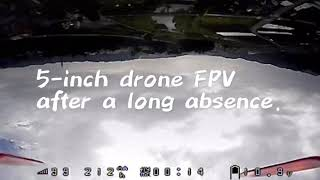 A 5-inch drone FPV after a long absence.