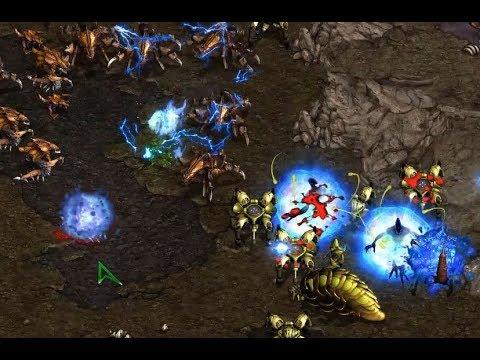 kirchlindach (Z) v Rain (P) on Fighting Spirit - StarCraft  - Brood War REMASTERED