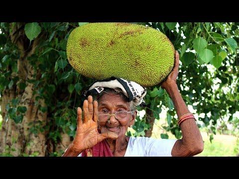 Jackfruit Biryani Recipe   Granny Cooking Jack fruit   Country foods