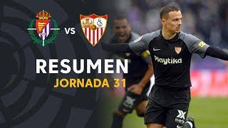 Resumen De Real Valladolid Vs Sevilla FC (0-2)
