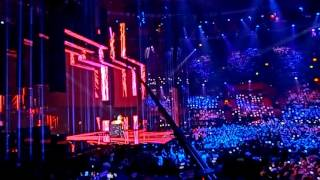 Eurovision 2016 2nd semi-final: Dami Im (AU) - Sound of silence (live in Stockholm/Sweden)