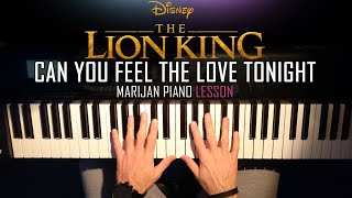 can you feel the love tonight elton john piano tutorial easy - Thủ