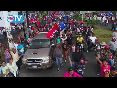 Miles de nicaragüenses ratifican que quieren Justicia, Trabajo y Paz