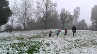 20.2.2015 שלג בכפר הנשיא