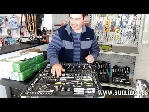 juego de llaves de vaso maletin de herramientas 216 piezas jbm