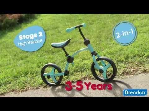 Беговел Smart Trike Running Bike, голубой