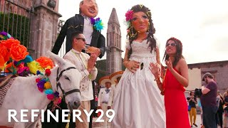 This Mexican And Filipino Extravagant Wedding Combined Two Cultures | World Wide Wed | Refinery29