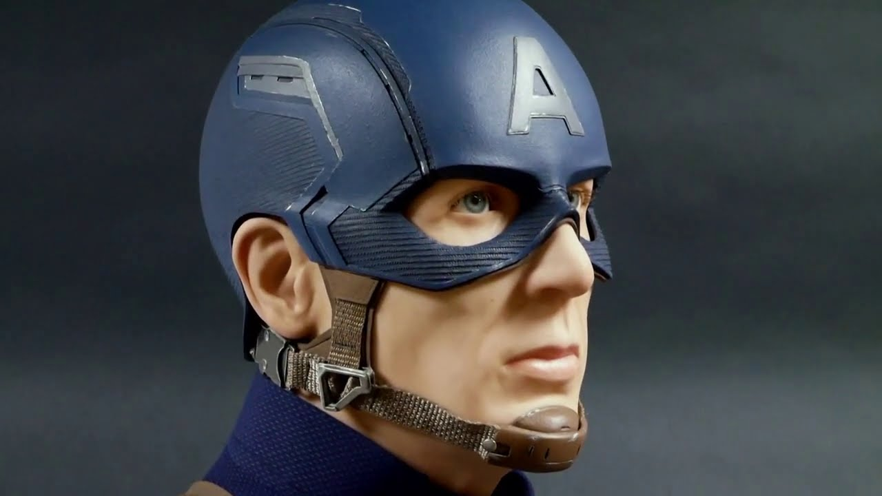 captain america sculpture time lapse by steven richter