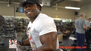 Attacking Delts and Triceps with An IFBB Champion