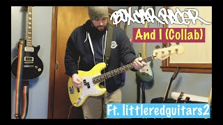 Box Car Racer - And I (Guitar and Bass Cover) Ft. littleredguitars2