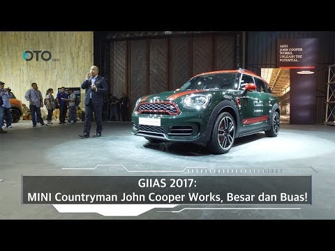 GIIAS 2017: MINI Countryman John Cooper Works, Besar dan Buas! I OTO.com