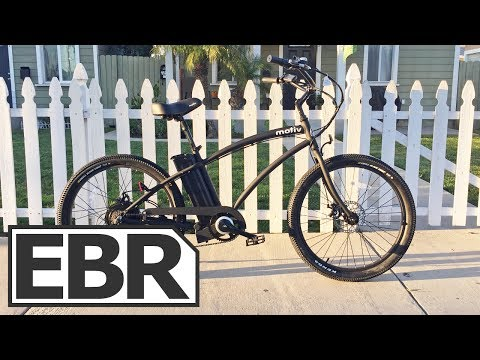 Motiv Spark Video Review – Stylish Cruiser Electric Bike with Throttle