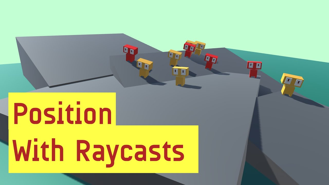 Procedural Spawning With Raycasts [unity tutorial c# scripting for beginners]
