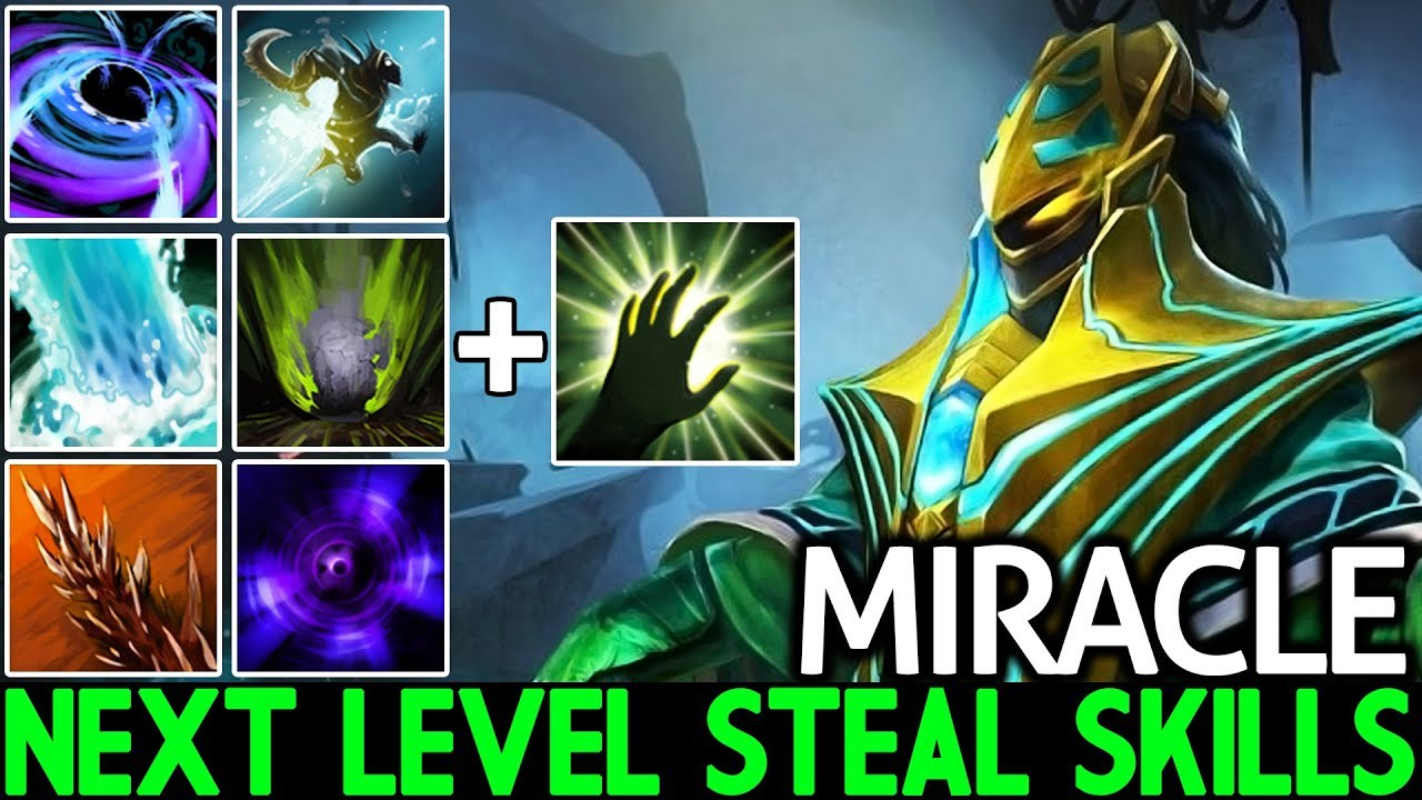 Miracle- [Rubick] Pro Player React so Fast Next Level Steal