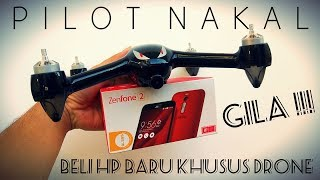 GILA!!! Beli Android Baru Khusus Buat Maen Drone MJX Bugs B2W FPV Wifi 5ghz