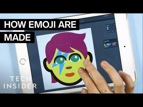 The Emoji Making Process Takes 2 Years