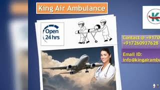 King Air Ambulance Service in Jaipur and SriNagar