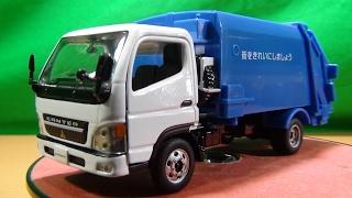 ダイヤペット DK-5106 1/43スケール 三菱ふそう キャンター 清掃車