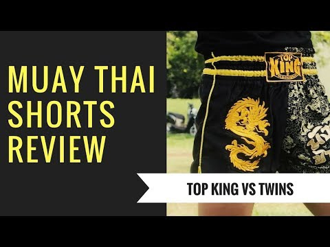 Muay Thai Shorts comparison (TOP KING VS TWINS) | Canon G7X II