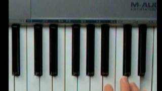 How 2 play Nokia Tune on the piano