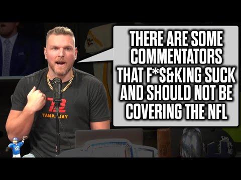 Pat McAfee Talks How Bad NFL Commentators Ruin Games