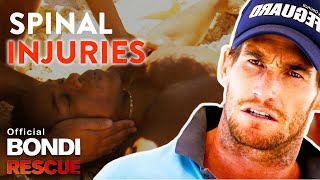 WORST Spinal Injuries on Bondi Rescue
