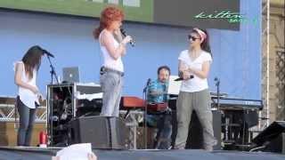 preview picture of video 'Eppure Sentire - Elisa & Fiorella Mannoia @ Lucca Summer Festival 2014 (prove)'