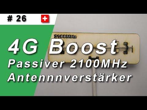 #26 Passive 4G Antenne für den Keller