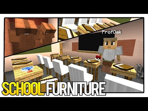 5 School Furniture Items (Student Desks, Professors, & MORE!) Mp3