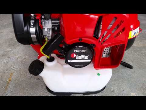 RED MAX EBZ8500 BACK PACK BLOWER REVIEW
