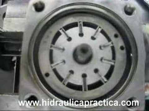 Hidraulica_Bomba de paletas Como funciona