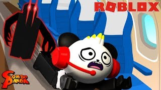 ROBLOX SCARY AIRPLANE 2 STORY all endings ! Let's Play Roblox Airplane 2 with Combo Panda