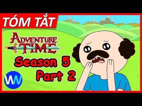 Tóm tắt Adventure Time Season 5 (Part 2) - W2W Cartoon - Video