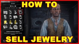 Red Dead Redemption 2: How to Sell Jewelry, Gold, & Stolen Stuff (Unlock the Fence Location)