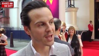 Эндрю Скотт, Andrew Scott on Sherlock Season 3 Moriarty Not Returning & New Doctor Who