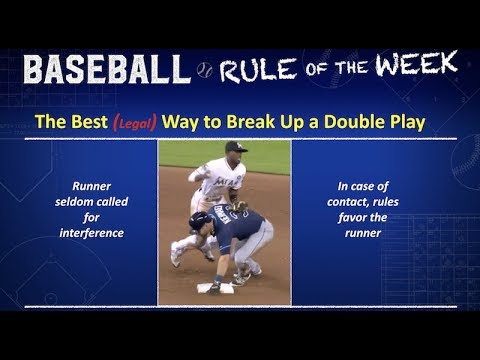 Best (Legal) Way to Break Up Double Play