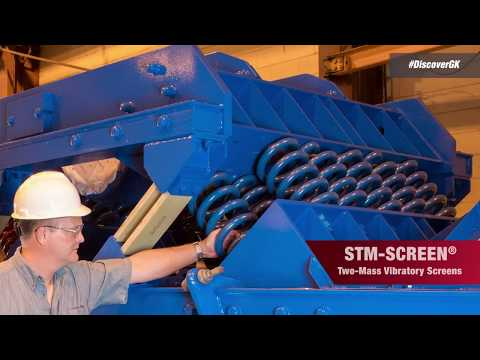 STM-SCREEN™ Two-Mass Vibrating Screen