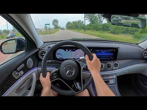 2021 Mercedes-Benz E450 - POV Test Drive (Binaural Audio)