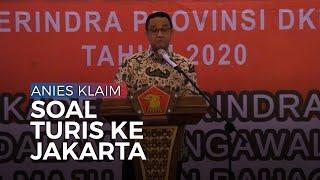 Gubernur Anies Baswedan Klaim Turis ke Jakarta Lebih Banyak dari Bali di Malam Tahun Baru 2020