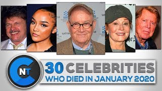 List of Celebrities Who Died In JANUARY 2020 | Latest Celebrity News 2020 (Celebrity Breaking News)