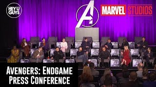 Avengers: Endgame Press Conference